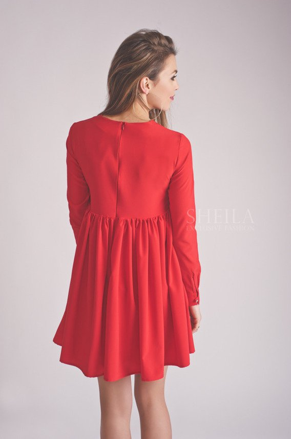BABY RED DRESS | SHEILA SS19