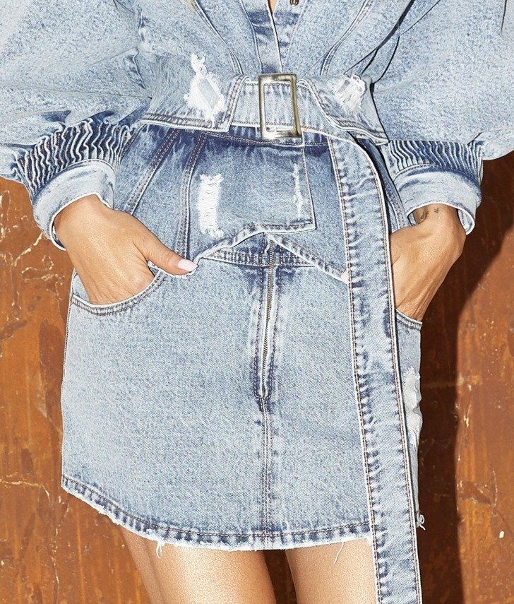 DENIM SKIRT III | SHEILA AW19