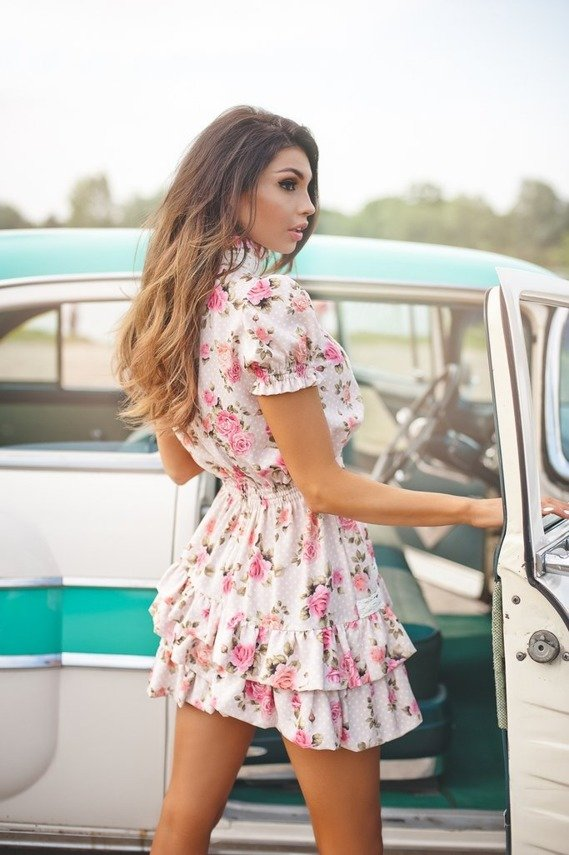 GIRL WITH ROSES DRESS |  SHEILA SS20
