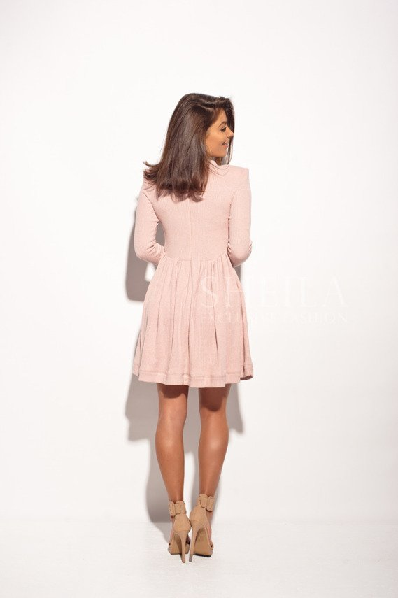 LILOU DRESS POWDER PINK