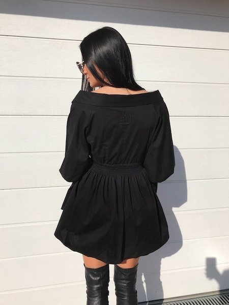 NATHALIE BLACK DRESS